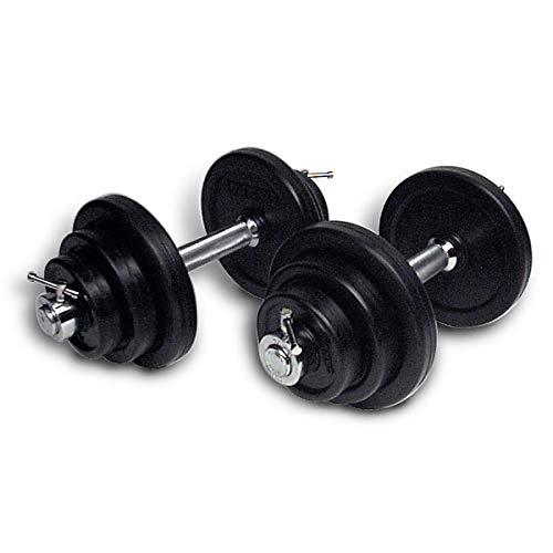 Ivanko Rubber-Encased 45 lb Adjustable Dumbbell Set (RUBIMO-45)
