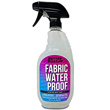 New Waterproofing Spray Fabric Protector Spray for Marine Canvas Boat Tops Vinyl Seats and Tent Water Proof