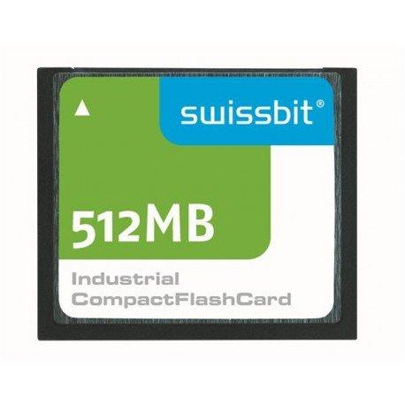 Swissbit 512MB Compact Flash (CF) Industrial Scheda di memoria