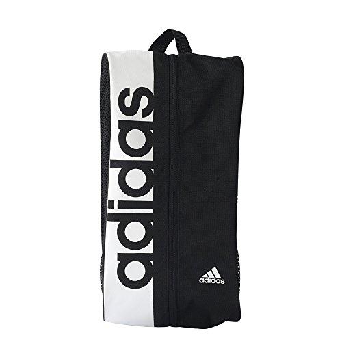 adidas Linear Performance Schuhtasche, Black/White, 10 x 20 x 37 cm