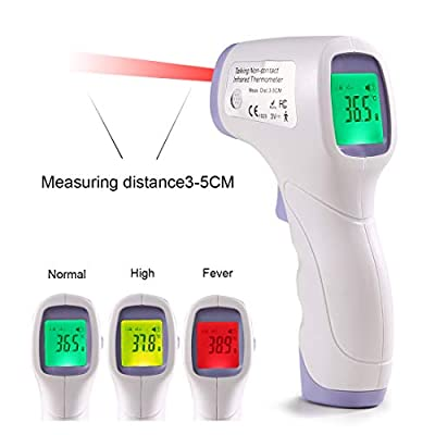 Non-Contact Forehead Gun,Forehead Thermometer? Infrared Thermometer? Handheld Infants Temperature Gun,Suitable for All Occasions and All Kinds of People
