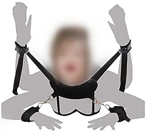 Bondageset Bondage Fesseln Sex mit Handfessel Fußfesseln Bett Set Fesseln SM Sexspielzeug für Anfänger und Paare