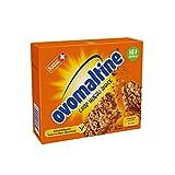 Ovomaltine Crisp Müsli Snack, Verschiedene Getreidesorten mit einer cremigen Ovomaltine Füllung, 4er Pack (4 x 150 g)