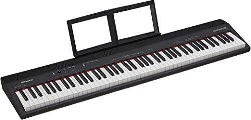 Roland GO:PIANO 88-Key Full Size Portable Digital Piano Keyboard with Onboard Bluetooth Speakers (GO-88P)
