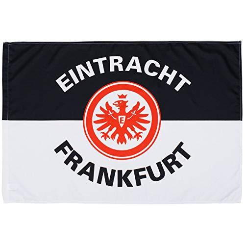 Eintracht Frankfurt Fahne, Schwenkfahne Classic 60 x 90 cm Flagge SGE - Plus Lesezeichen I Love Frankfurt
