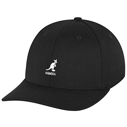 Kangol Herren Wool Flexfit Baseball Cap, Schwarz, L/XL