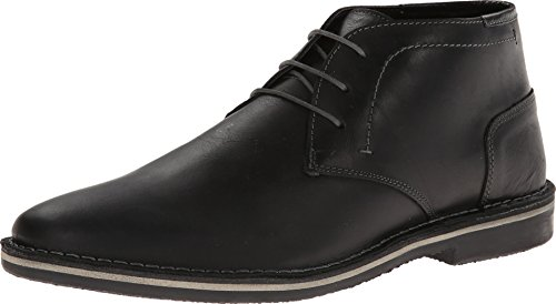Steve Madden Men's Harken Chukka Boot, Black, 11 M US