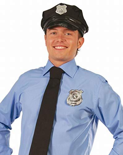 Guirca 16151 Badge de Policier Argenté