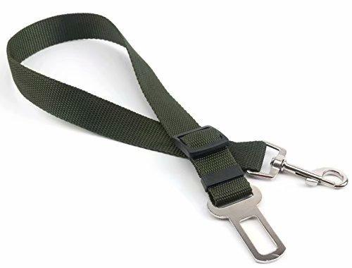 Waymeduo Cinturón de Seguridad de Coche Para Perros/Cinturón de Nylon para trasportar mascotas