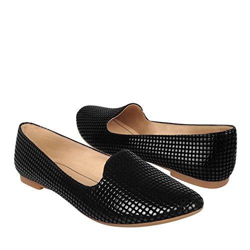 STYLO Zapatos 1905 3-6 Suede Negro 23 23