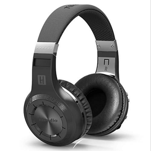 DYY Stereo Headset Bluetooth Headset Ausdauer Bluetooth/Kabelmodes Handy/PC Subwoofer Bewegung/Spiel / Musik Headset (Farbe : SCHWARZ)