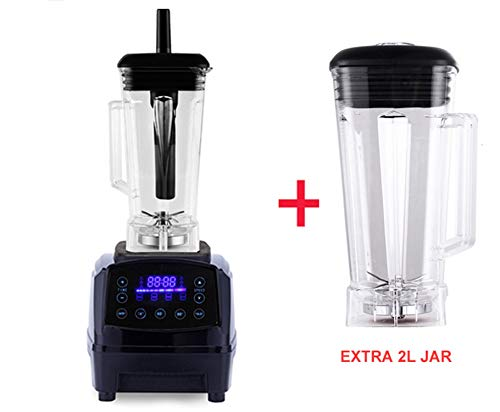 Purchase Digital Touchpad Preset Timer Program 2200W Heavy Duty Power Blender Mixer Juicer Food Proc...