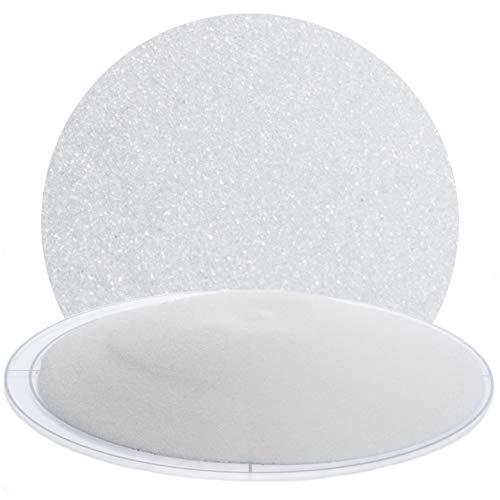 Glasperlen Strahlmittel 25 kg von Schicker Mineral zum schonenden Sandstrahlen z.B. von Holz, Glas Feinstrahlmittel aus Deutschland, Strahlgut in vielen Körnungen fein bis grob (200-300 µm)