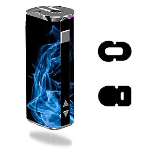 Decal Sticker Skin WRAP Blue Smoke for Eleaf iStick 30W