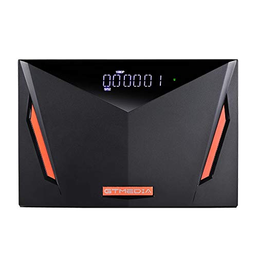 GT MEDIA V8 UHD Decoder Digitale Terrestre DVB-T2 4K HD Decoder Satellitare TV SAT, DVB-T2 + S2X + Cavo Combo, Lettore Smart Card per TIVUSAT, Supporta 4K H.265 Hevc 10bit PVR con WiFi SCART HDMI