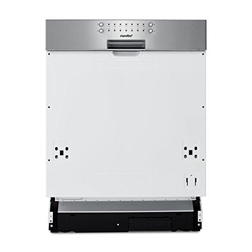 comfee CGT60EAA Geschirrspüler Teilintegriert/258 kWh/Jahr/MGD/3080 L/jahr/11 L Wasserverbrauch/12 Maßgedecke