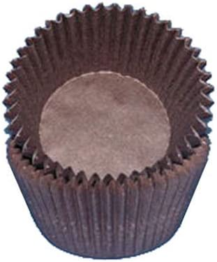 CK Complete Free Shipping Products Brown Glassine Bargain sale Cupcake Baking Cups Muffin Liners 500