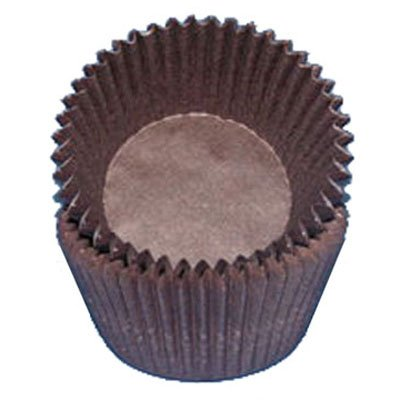 CK Products Brown Glassine Cupcake/Muffin Baking Cups Liners 500 count