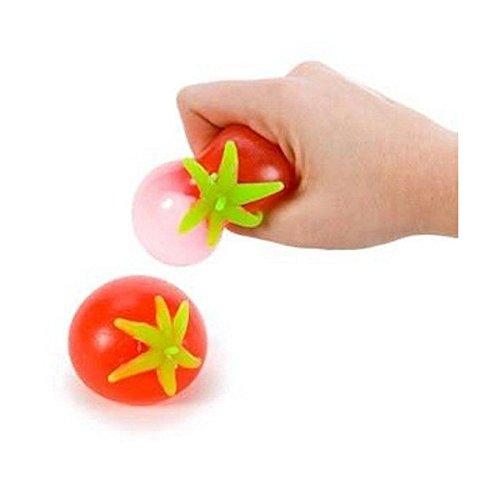Splatter Red Tomato Splat Sticky Ball Stress Toy Autism Sensory Gag Gift Novelty