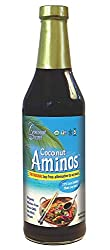 Organic Raw Coconut Aminos Soy-Free Seasoning Sauce