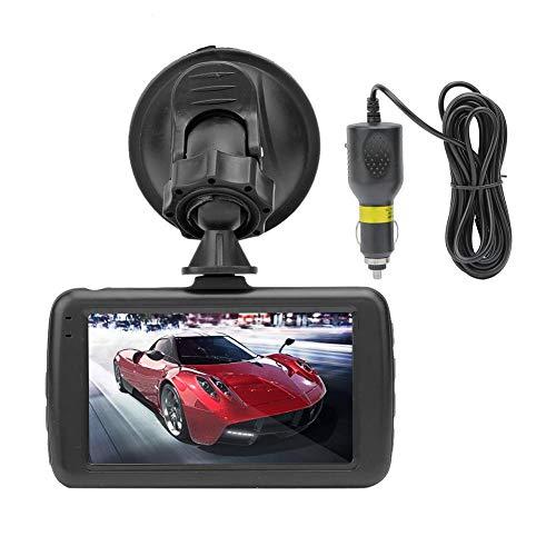 Driving Recorder, Akozon 3in LCD Screen Driving Recorder HD 1080P Cargador de coche Loop Video Recording DVR Camera