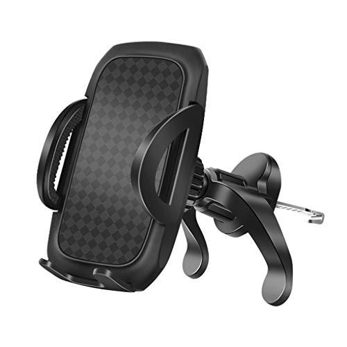 Joocyee Soporte de Montaje para teléfono de Coche de 360 Grados Soporte para teléfono móvil con ventilación de Aire Soporte para GPS, Soporte para teléfono móvil, Negro