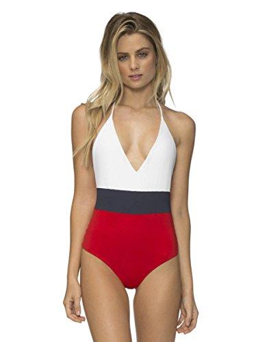 Tavik Swimwear Women's Chase Swimsuit, White, Medium