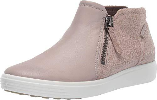ECCO Damen Soft 7 W Stiefeletten, Grau (Grey Rose/Grey Rose 51501), 39/40 EU