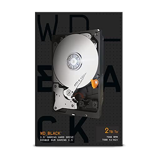 "WD_BLACK 2TB Leistung 3.5"" Interne Festplatte – 7.200 RPM Class, SATA 6Gbit/s, 64MB Cache"
