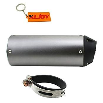 XLJOY 38mm Mute Silence Quiet Exhaust Muffler for 125cc 140cc 150cc 160cc ATV Pit Dirt Bike