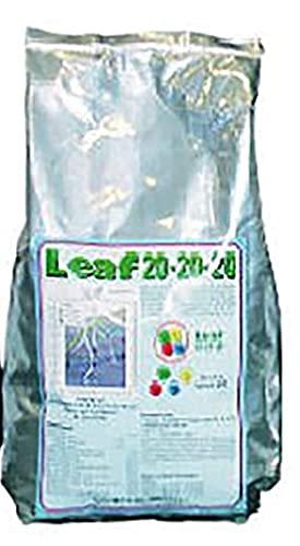 VIALCA Leaf CONCIME 20-20-20 kg.2 Concime NPK Fertilizzante CONCIME idrosolubile e fogliare (azoto-fosforo-potassio) per Tutti i Tipi di pianta ORTO E Giardino