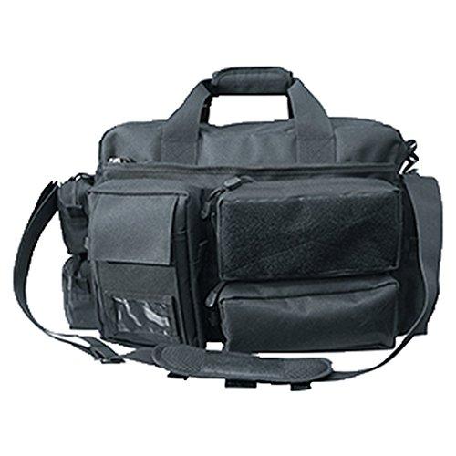 Commando Industries Security Einsatztasche mit 7 Taschen SecurityBag Laptoptasche Tragetasche Schwarz