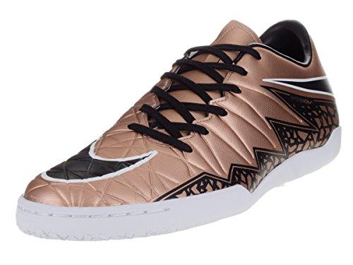 Nike Hypervenom Phelon II IC, Botas de fútbol para Hombre, Mtlc Rd Brnz Blk Grn GLW White, 44 1/2 EU