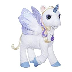 magical unicorn interactive plush pet toy