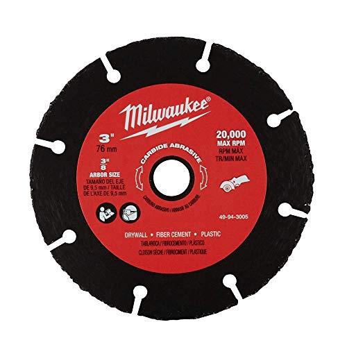 Milwaukee 49-94-3005 3 Inch Carbide Abrasive Blade