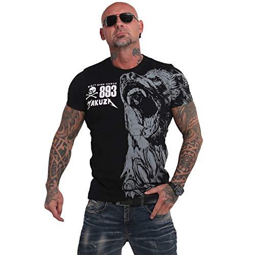 Yakuza Herren Beast T-Shirt, Schwarz, 2XL