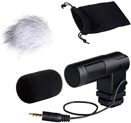 BOYA BY-V01 Mini Stereo X/Y condensator microfoon microfoon microfoon voor Canon Nikon Sony Pentax DSLR camera