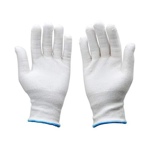 Agradable al tacto resistente al corte guantes de uso alimentario seguridad en...