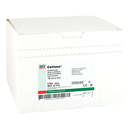 CELLONA Synthetikwatte steril 15 cmx3 m 5 St