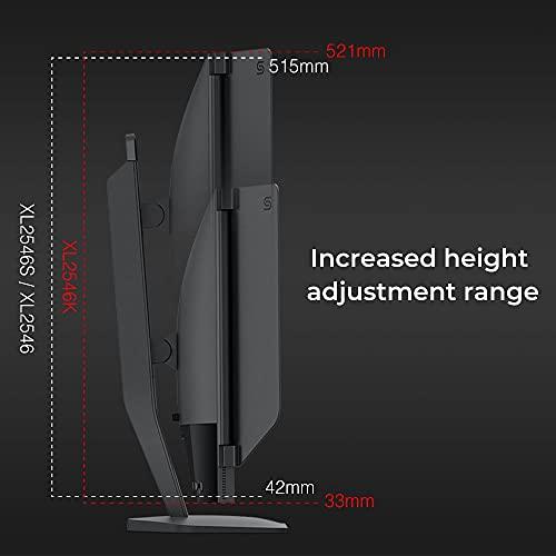 BenQ ZOWIE XL2546K 24,5 Zoll 240Hz Gaming Monitor (DyAc+, Black eQualizer, Höhenverstellbar, Shields, S-Switch Controller) für PC-Spieler