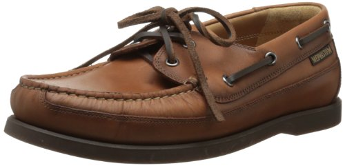 Mephisto Men's Boating Slip-On,Hazelnut Smooth,12 M US