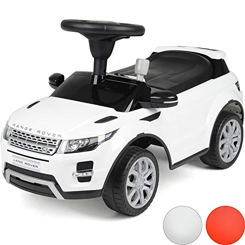 Licensed Range Rover Ride On Car, Kids Foot To Floor, Toddler Evoque SUV, Sound Effects, Under Seat Storage