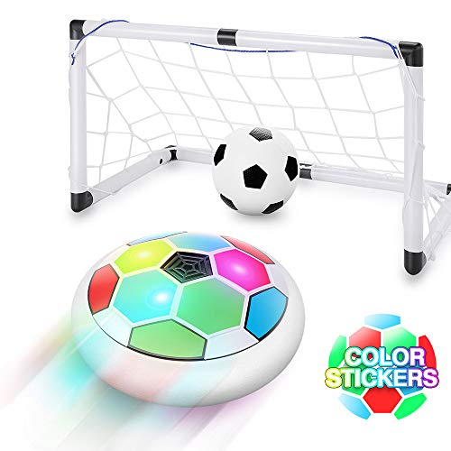 Hover Soccer Ball Set W/ 2 Goals Safe on Floors  $9.99 (50% OFF Deal)