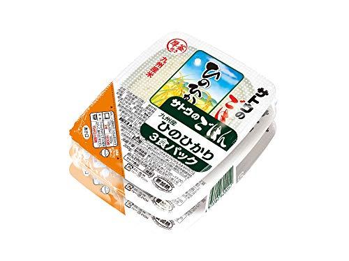 サトウ サトウのごはん ひのひかり 3食パック ×12袋