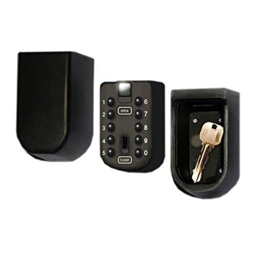 固定型 キー暗証番号型ボックス 合鍵を入れておけば忘れた際も解錠KEYFIX-BOX 安全キーボックス
