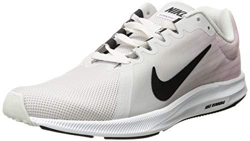 Nike Women's Downshifter 8 Running Shoe, Vast Grey/Black-Pink Foam-White, 8 Regular US