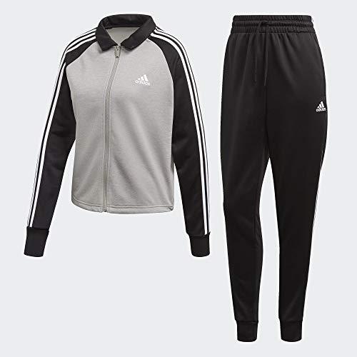 adidas W TS Gametime Chándal, Mujer, Medium Grey Heather Black, XS