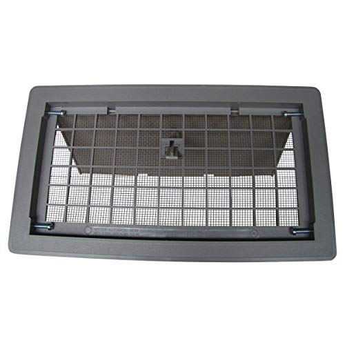 Witten Automatic Vent 500GR Foundation Vent, Gray