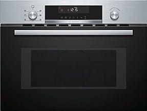 Bosch Serie 6 CMA585MS0 Integrado - Microondas (Integrado, Microondas combinado, 44 L, 900 W, Giratorio, Negro, Acero inoxidable)