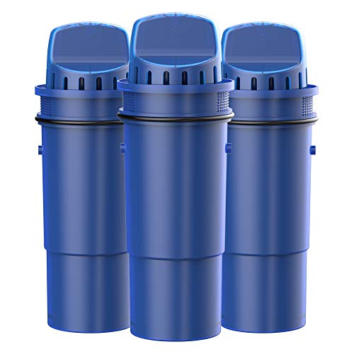 Waterspecialist CRF-950Z NSF Certified Pitcher Water Filter, Replacement for Pur Pitchers and Dispensers PPT700W, CR-1100C, DS-1800Z and PPF951K, PPF900Z Water Filter (Pack of 3)